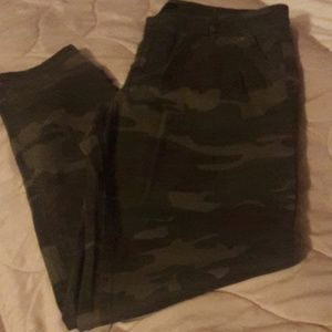 Camouflage pants by Sanctuary